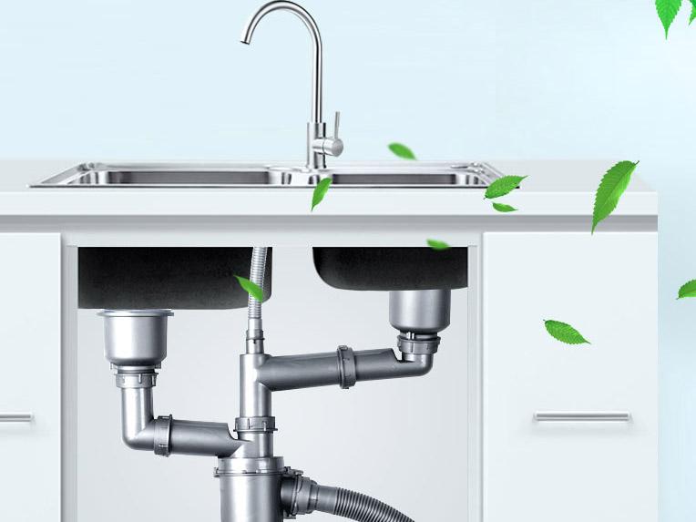 欧顺诺跟大家分享水槽下水器的分类