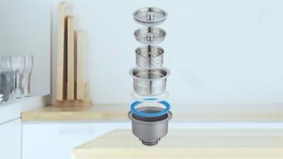 欧顺诺防臭防堵水槽下水品质高,值得选择