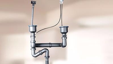 欧顺诺水槽下水节省空间,安装简单